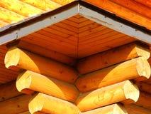 Träarkitekturen Arkivfoto