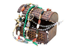 Träask med pärlor Royaltyfri Fotografi