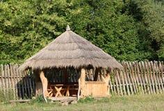 Träaxeln för vilar i landet Fotografering för Bildbyråer