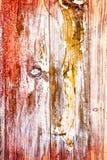 Träbakgrund för abstrakt tappning i mörka färger Arkivbilder