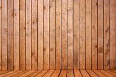 Träbakgrund för utrymme 3d Arkivfoto