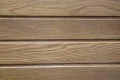 Träbakgrund, ljus - brun färg Top beskådar Arkivbilder