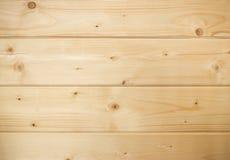 Träbakgrund med horisontalbräden Arkivbild