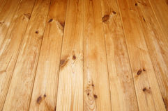 Träbakgrund, trä stiger ombord, perspektivbilden Royaltyfria Bilder