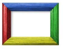 träbakgrundsfärgram arkivfoton