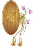 träbakgrundstextur Royaltyfri Fotografi