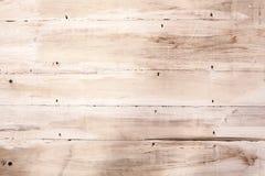 Träbakgrundstextur för urblekt tappning Arkivbilder