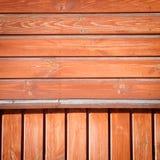 träbakgrundsvägg Royaltyfri Bild