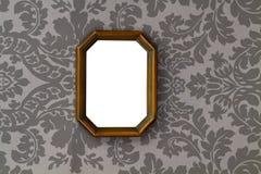 Träbild för blank tappning Arkivbild