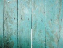 träblå vägg royaltyfria foton
