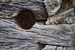 träblockhus Arkivbild