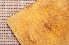 träbrädecutting Fotografering för Bildbyråer