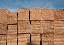 träbrädestapelplankor fotografering för bildbyråer