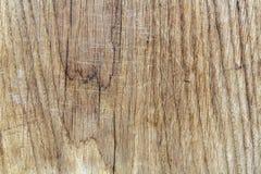 Träbrädeyttersida med skrapor Royaltyfri Bild