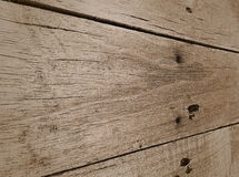 träbrun vägg Arkivbilder