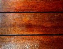 träbruna plankor Arkivbild