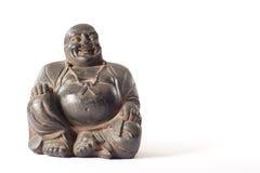 träbuddha staty royaltyfri foto