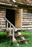 Trädörr Royaltyfri Bild