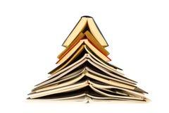 Träd av böcker Arkivfoto