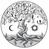 Träd av life2 stock illustrationer