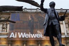 Träd för Ai Wei Weis på den kungliga akademin av konster Royaltyfri Bild