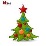 Träd för nytt år Arkivbilder