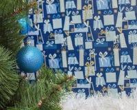 Träd för ` s för nytt år Arkivbild