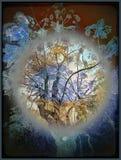 Träd i en bubbla Royaltyfri Foto