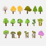 Träd ställde in - Fotografering för Bildbyråer