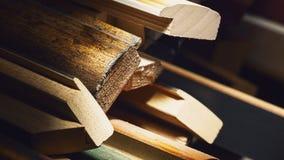 Trädekorativa ramar för bilder Fotografering för Bildbyråer