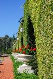 Trädgård av den Bahai världsmitten acquittancen arkivfoto