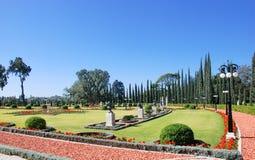 Trädgård av den Bahai världsmitten acquittancen arkivfoton