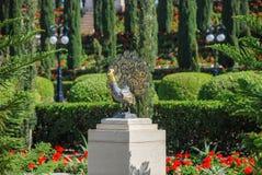 Trädgård av den Bahai världsmitten acquittancen royaltyfria bilder