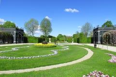 Schönbrunn trädgården Arkivbilder