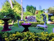 Trädgård av fröjder arkivbild
