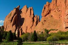 Trädgård av gudarna Colorado Springs Royaltyfria Bilder
