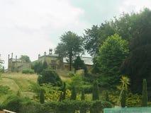 Trädgård av huset royaltyfria bilder