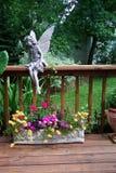 Trädgård för farbror Gregs arkivbild