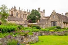 Trädgård för krigminnesmärke. Oxford UK Royaltyfri Fotografi