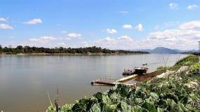 Trädgård för Mekong River sidogrönsak royaltyfri foto