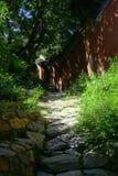 Trädgård för traditionell kines Arkivfoton