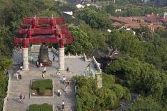 Trädgård för traditionell kines Fotografering för Bildbyråer