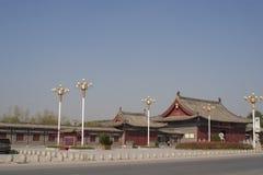Trädgård för traditionell kines av den Taihao mausoleet Fotografering för Bildbyråer