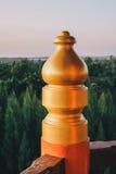 Trädgård för tre kungariken på Pattaya: Korridordetalj arkivfoton