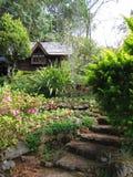Trädgård i AngKhang Arkivbilder