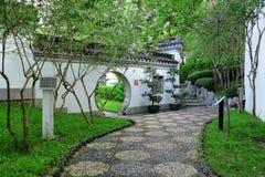 Trädgård i porslin royaltyfria foton