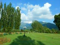 Trädgård i Srinagar-Ii Royaltyfri Foto
