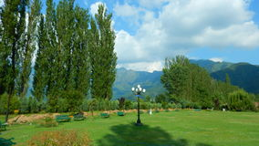 Trädgård i Srinagar-III Fotografering för Bildbyråer
