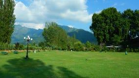 Trädgård i Srinagar-JAg Royaltyfri Bild