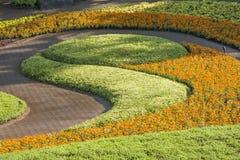 Trädgård i Thailand Arkivbild